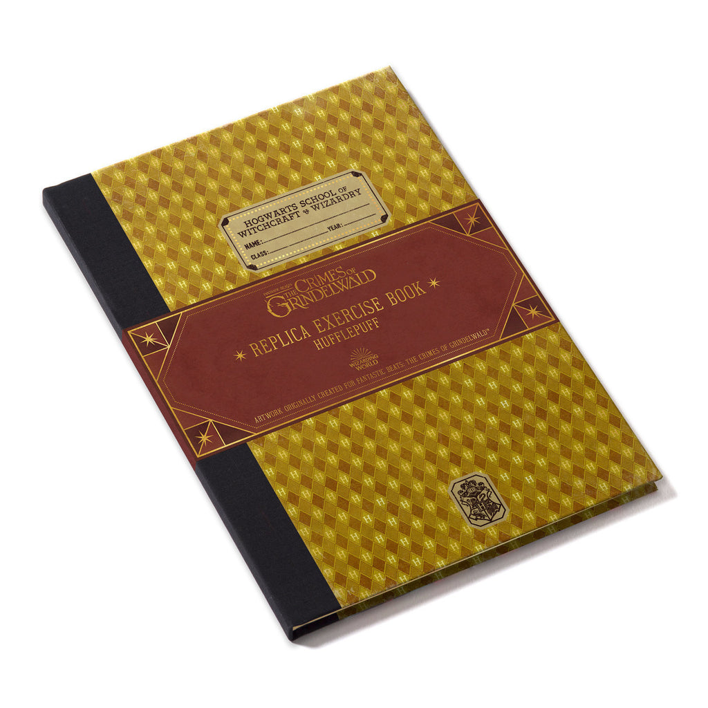 1910 Hufflepuff Exercise Book - Prop Replica