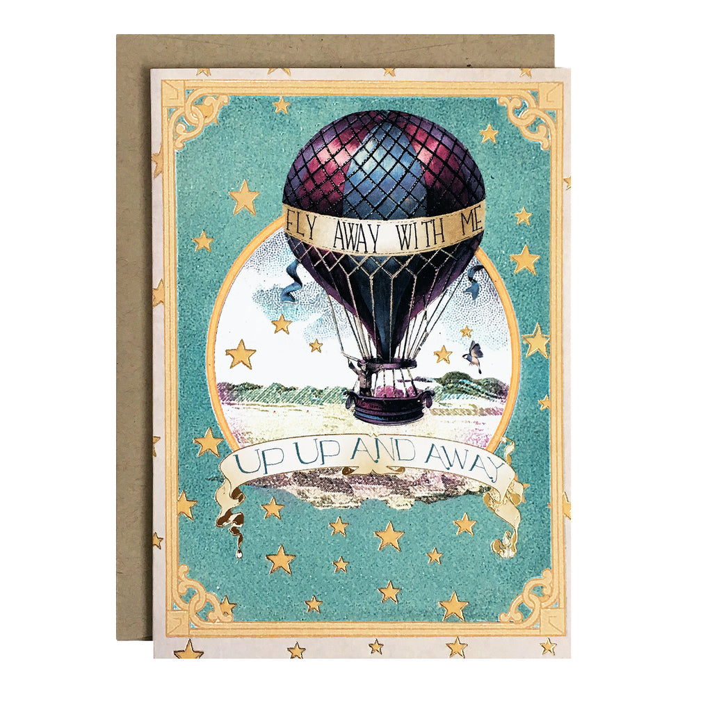 Fly Away With Me Card