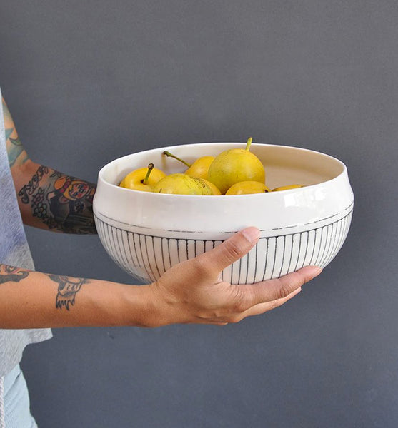 Center Piece Serving Bowl - Closing Lip - Eureka
