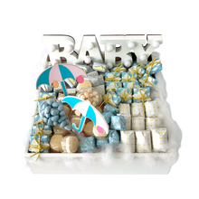 Load image into Gallery viewer, Come Rain or Come Shine - Baby Chocolate Tray