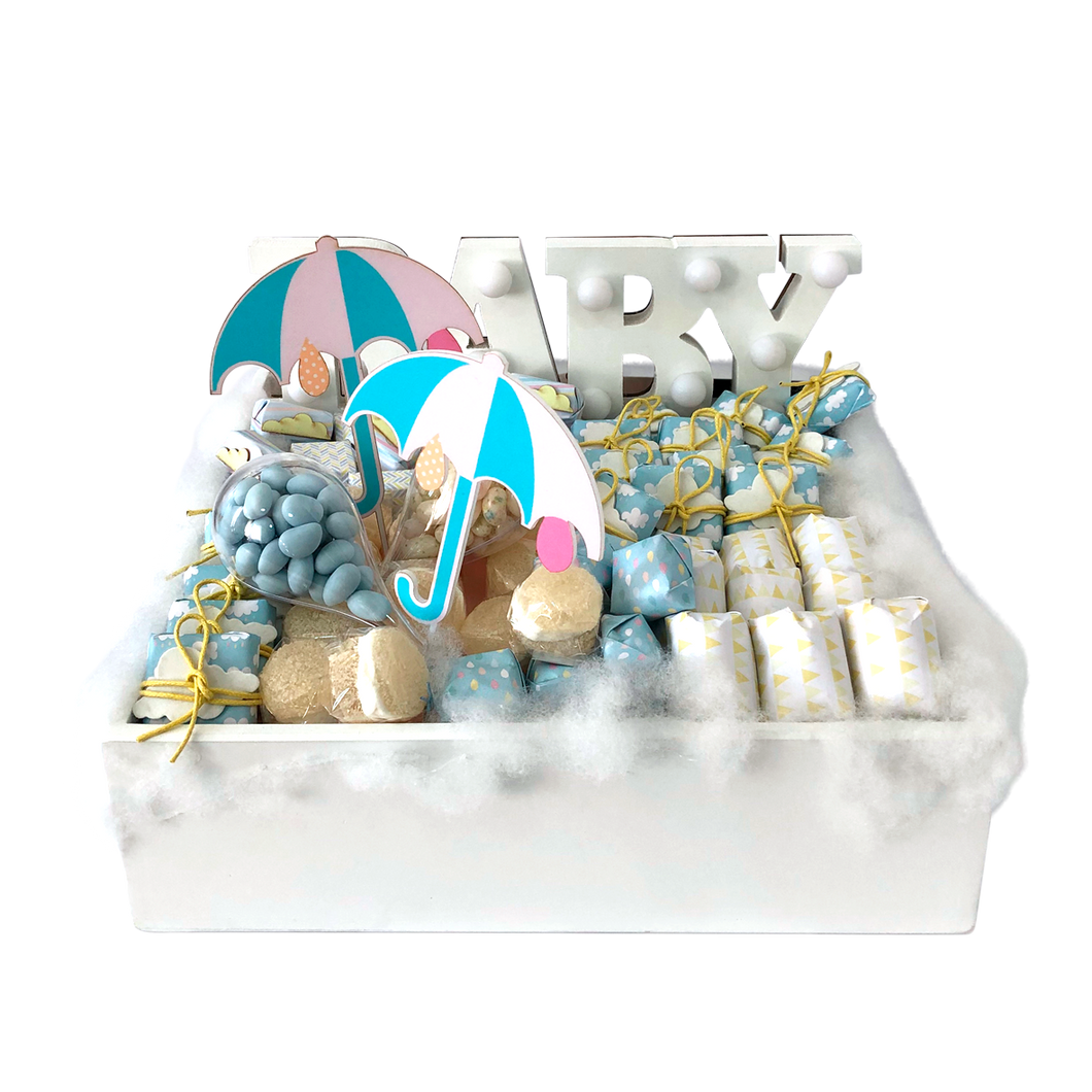 Come Rain or Come Shine - Baby Chocolate Tray