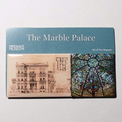 The Marble Palace Magnet Set