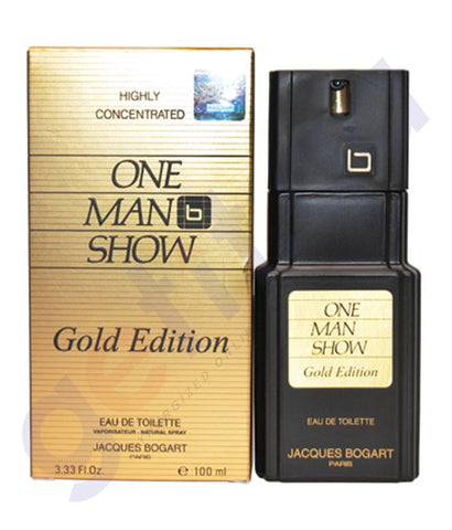 BUY JACQES BOGART ONE MAN SHOW GOLD EDT 100ML FOR MEN IN QATAR