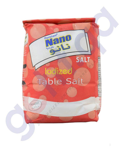Buy Pavizham Nano Iodized Table Salt 1kg Online Doha Qatar