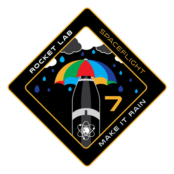 Mission Patch - Make it Rain