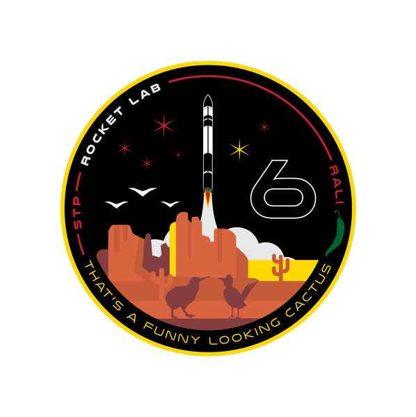 Mission Patch - That's a Funny Looking Cactus