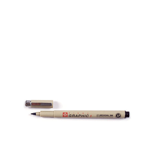 Sakura Pigma® Graphic 1 Black Pen (1 mm)