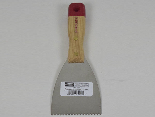 Notched Scraper