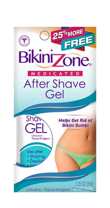 Bikini Zone After-Shave Gel - 25% More