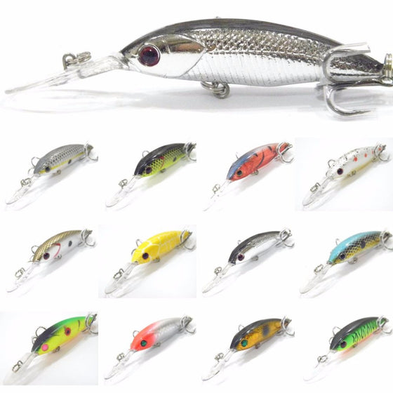 Medium Diving Minnow Jerkbait BSS514