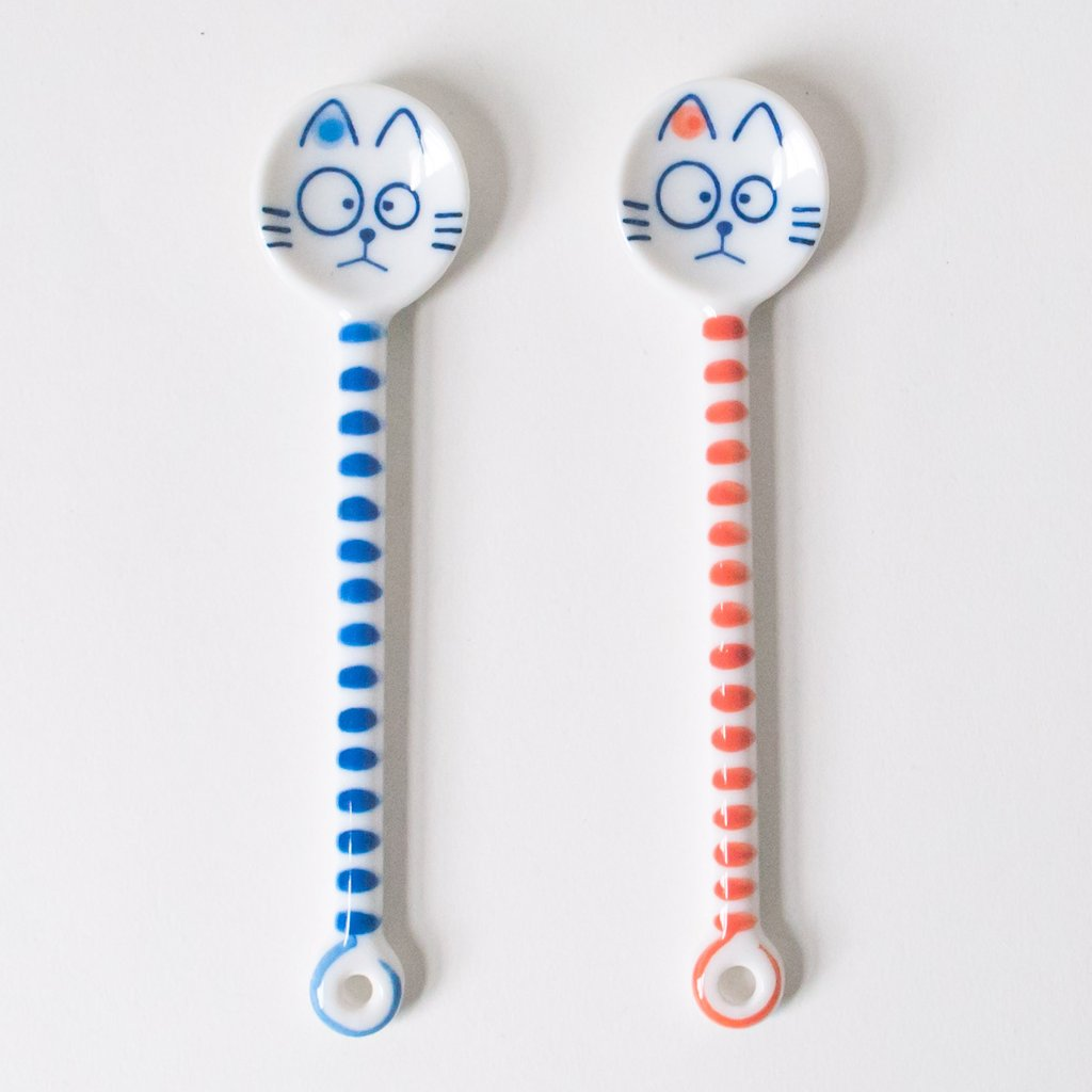 Cat Teaspoon - Todd & Holland Tea Merchants
