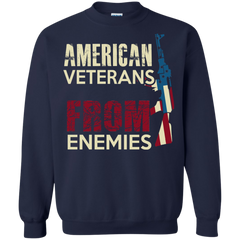 Veteran Shirts American Veteran From Enemies T-shirts Hoodies Sweatshirts - TeeDoggie.Com