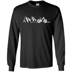 Mountain Cycling Heartbeat T shirts Hoodies Sweatshirts