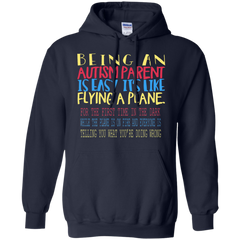 Autism Awareness T-shirts Being An Autism Parent Is Easy It's Like Flying A Plane Shirts Hoodies Sweatshirts