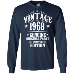 1968 Shirts Vintage 1968 Genuine Original Limited Edition T-shirts Hoodies Sweatshirts - TeeDoggie.Com