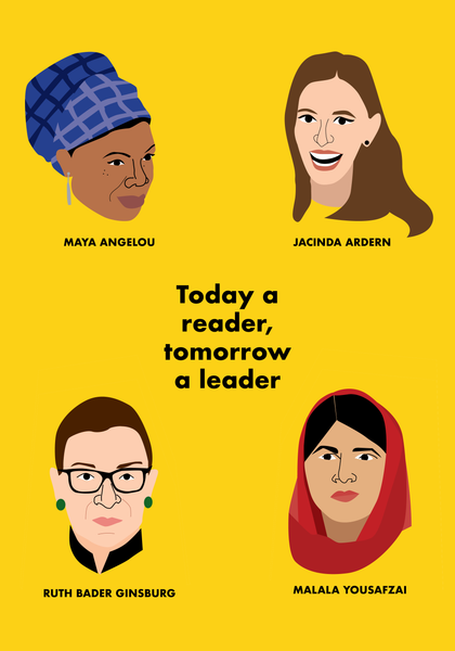 Reader, Leader Print A2 Print - Free Delivery