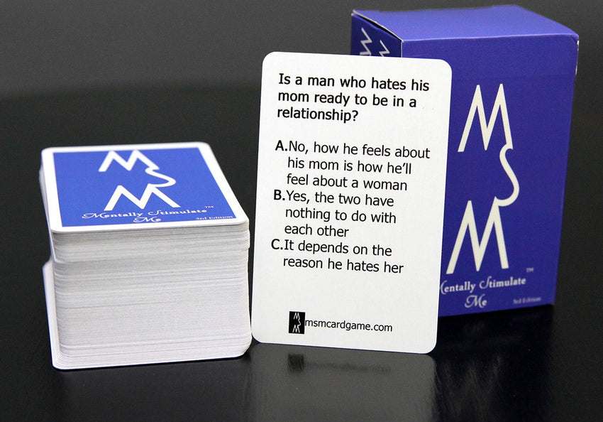 "3rd Edition ""Mentally Stimulate Me"" Cards"