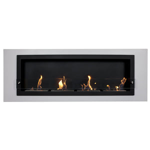 Camino Bianco Wall Mounted Fireplace
