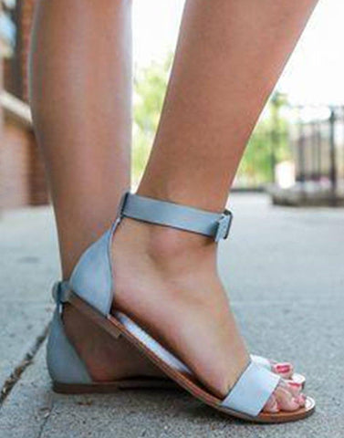 Strappy Sandals Flat