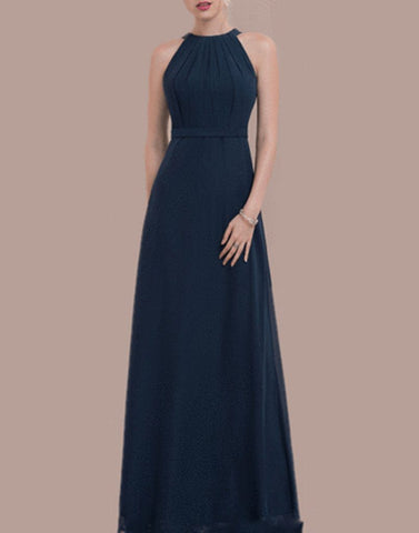 Sizzling Blue Long Gown