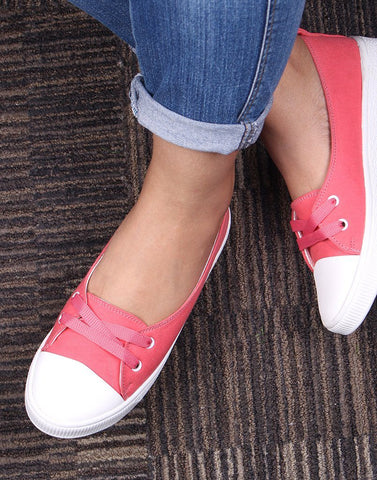 Dancing Feet Pink Sneakers