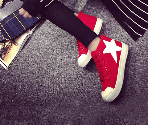 Forever Energetic red sneakers