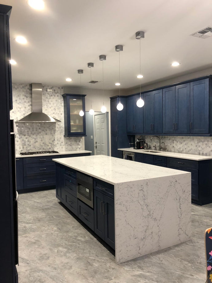 What is a Waterfall Countertop?