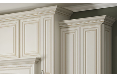 How to use Crown Molding, Dental Molding, Rope Molding, Light Rail Molding and Furniture Base Molding.