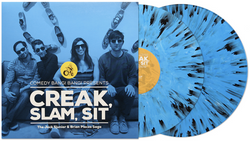 Comedy Bang! Bang! ‎– Creak, Slam, Sit: The Jack Sjunior & Brian Pieces Saga (Newbury Comics Exclusive Blue w/ Black Splatter Vinyl 2xLP x/500) - Rare Limiteds