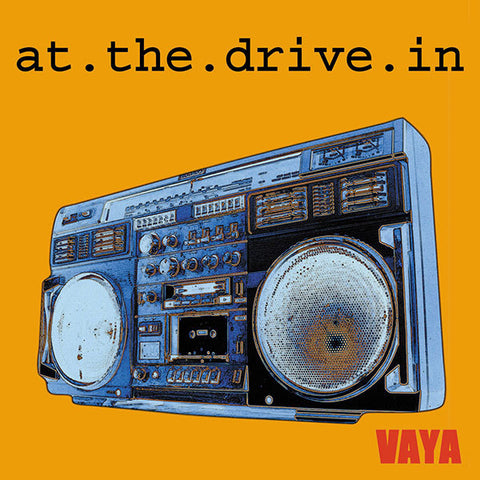 "At The Drive-In - Vaya (Hot Topic Exclusive Vibrant Red 10"" Vinyl EP x/1000) - Rare Limiteds"