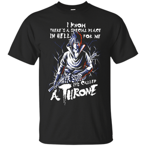 Naruto - NARUTO SASUKE UCHIHA STAY ON THRONE SHIRT  TP00263 T Shirt & Hoodie