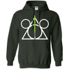 DISNEY HARRY POTTER MASH UP STAR WARS - Disney Hallows green T Shirt & Hoodie