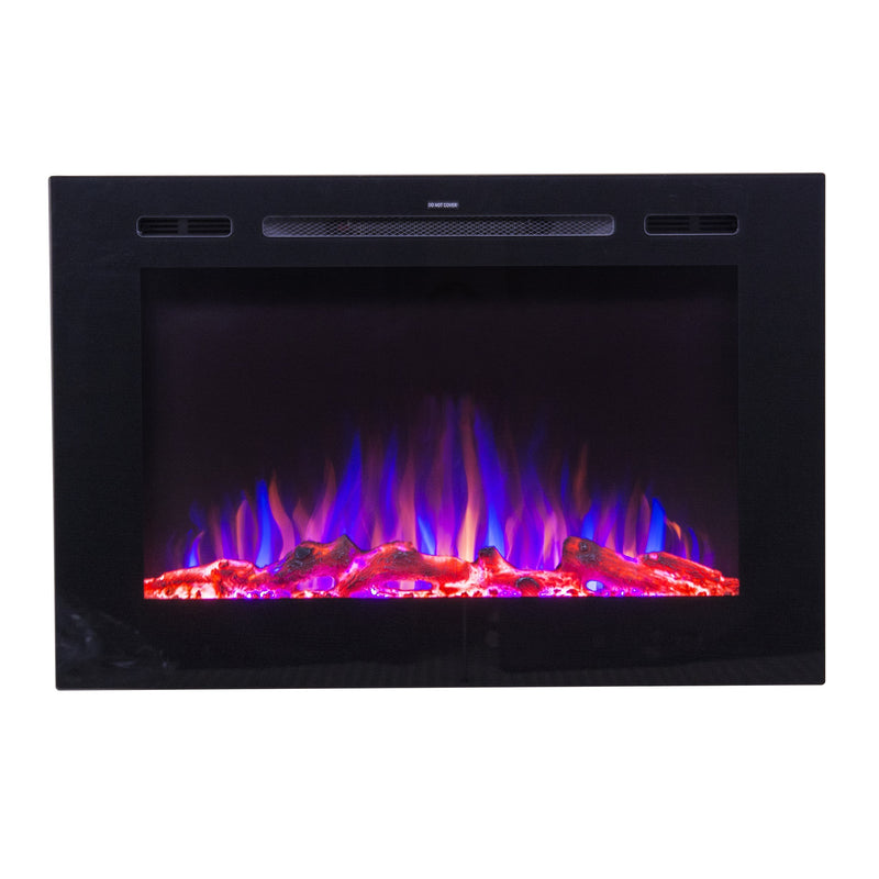 "Forte 80006 40"" Recessed Electric Fireplace - Touchstone Home Products, Inc."