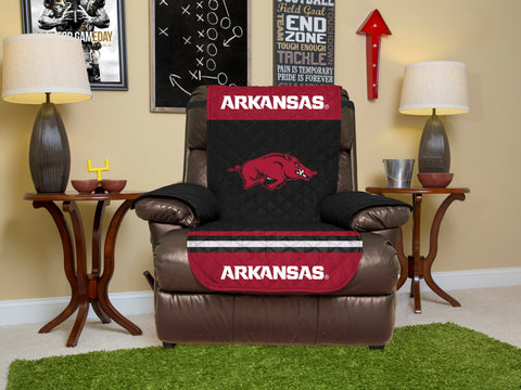University of Arkansas Furniture Protector with Elastic Straps