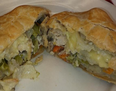 Chicken Divan Pastie - Uncle Peter's Pasties