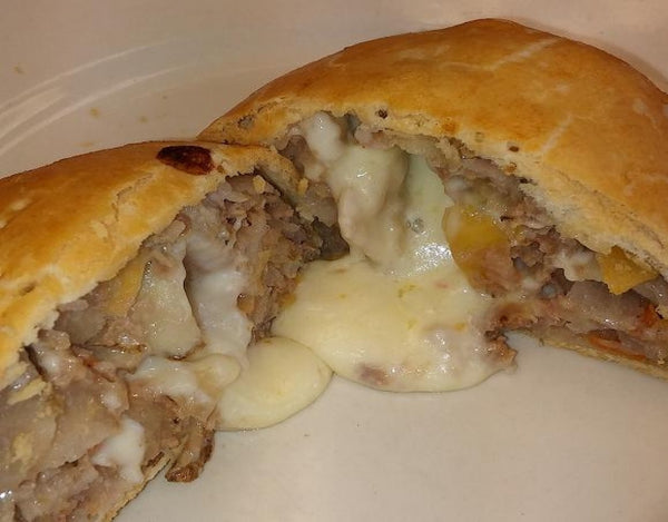 Beef with Pepper Jack Cheese Pastie - Uncle Peter's Pasties