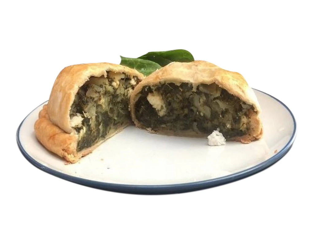 Spinach & Feta Pastie - Coconut Oil - Uncle Peter's Pasties