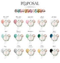 Rose Gold Confetti and Ivy Bridal Shower Mylar Balloon Multipack