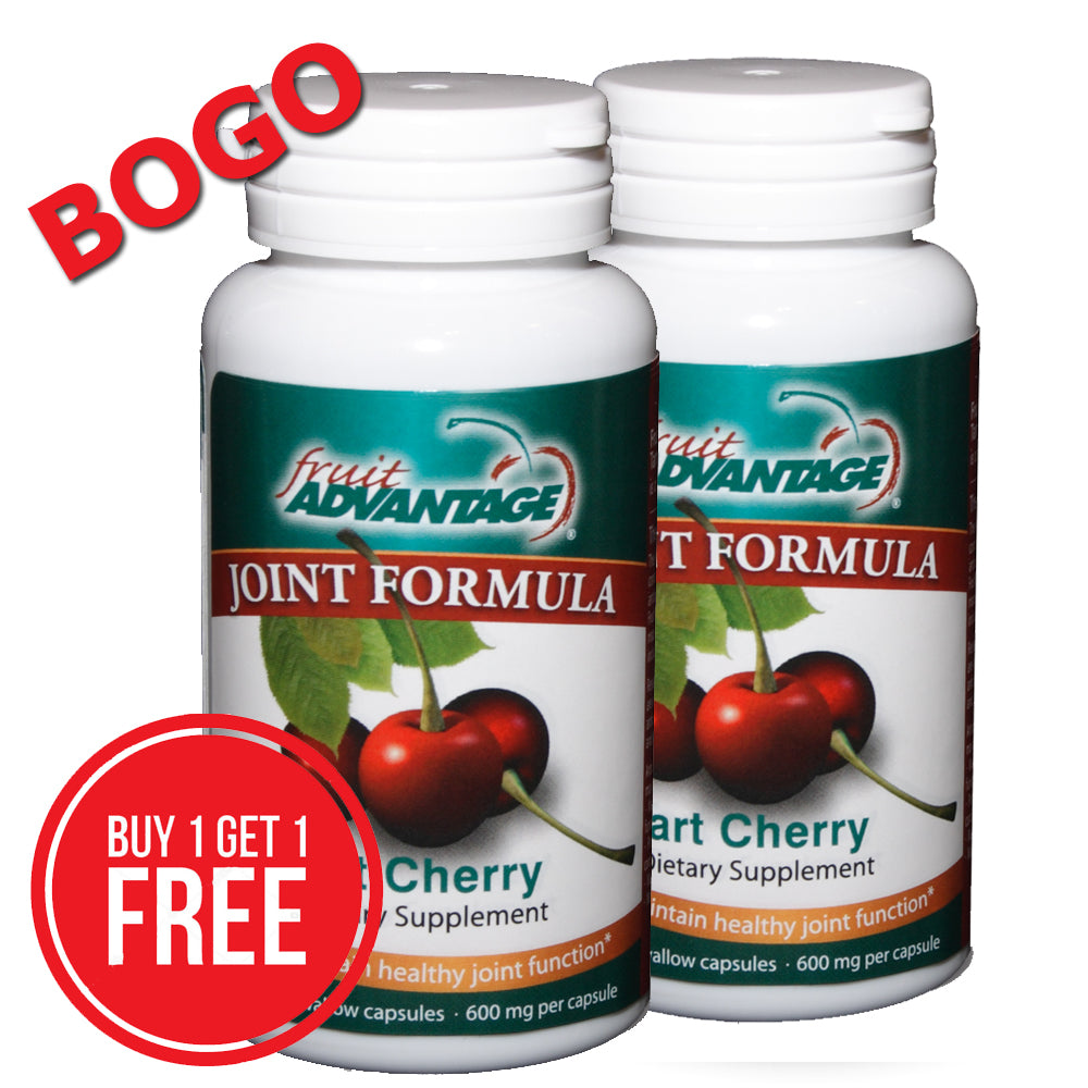 BOGO - 30-Count Fruit Advantage Joint Formula Tart Cherry + Free Shipping - traversebayfarms