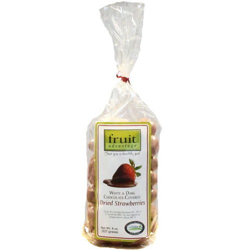 Chocolate Covered Dried Strawberries - traversebayfarms