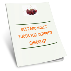 Best and Worst Foods for Arthritis Checklist - traversebayfarms