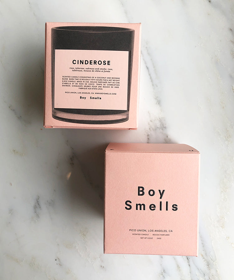Boy Smells Cinderose