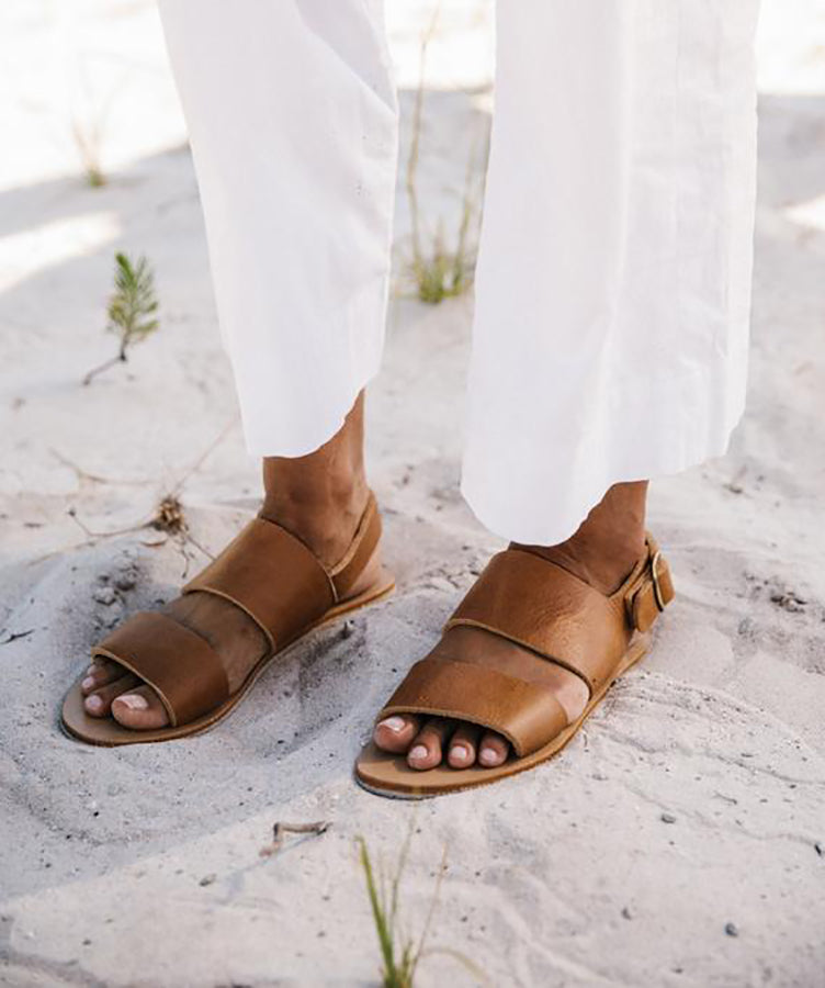 St. Agni Jun Sandal Tan