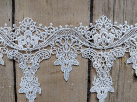 Flower Embroidered Lace