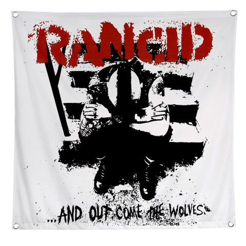 Rancid - AOCTW Banner Flag