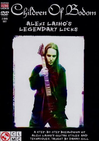 Children of Bodom - Alexi Laiho - Legendary Licks - DVD