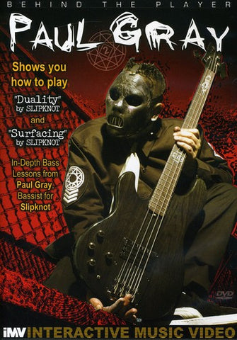 Slipknot - Paul Gray - Behind The Player: Bass Guitar Ed. Vol. 3 - DVD