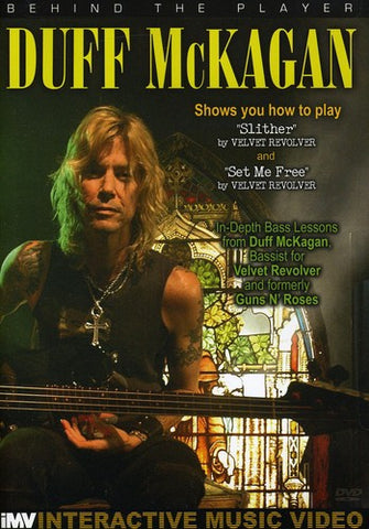 Guns N Roses - Duff McKagan - Behind The Player: Bass Guitar Ed. - DVD