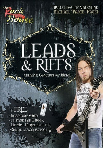 Bullet For My Valentine - Michael Paget - Leads & Riffs - DVD