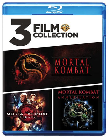 Mortal Kombat Movie Collection - Mortal Kombat / MK 2 / MK: Legacy - Blu-ray